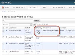 Enterprise password management solution