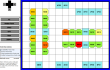 Room layouts with heat maps