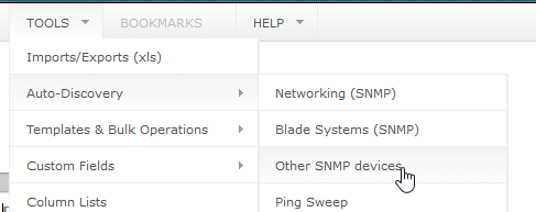 Other SNMP and IPMI Auto-Discovery