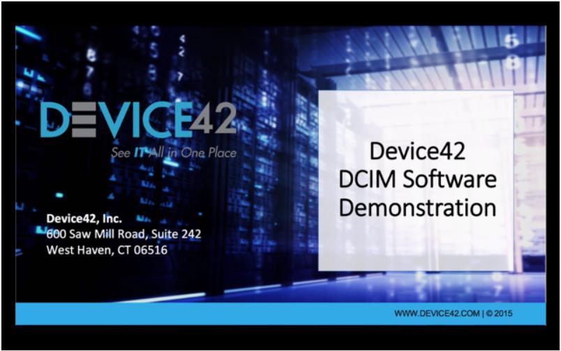 DCIM Quick Demo