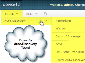 Multiple network auto-discovery tools