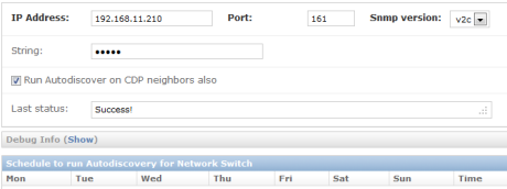 SNMP Network Discovery