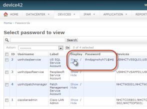 Enterprise password management solution