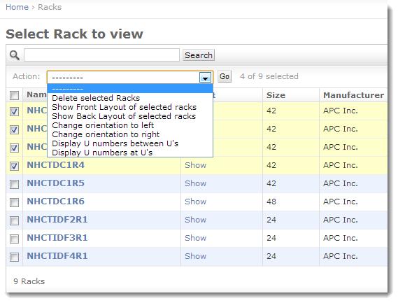 Server Rack Diagrams Device42 Software