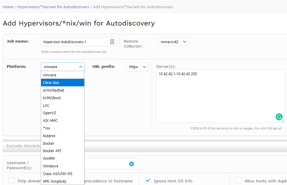 Hypervisors and Virtual Machine Discovery