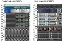 Web-based automatic rack diagrams