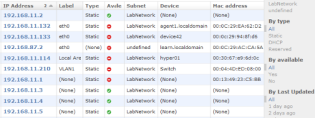 IP Address Management APIs