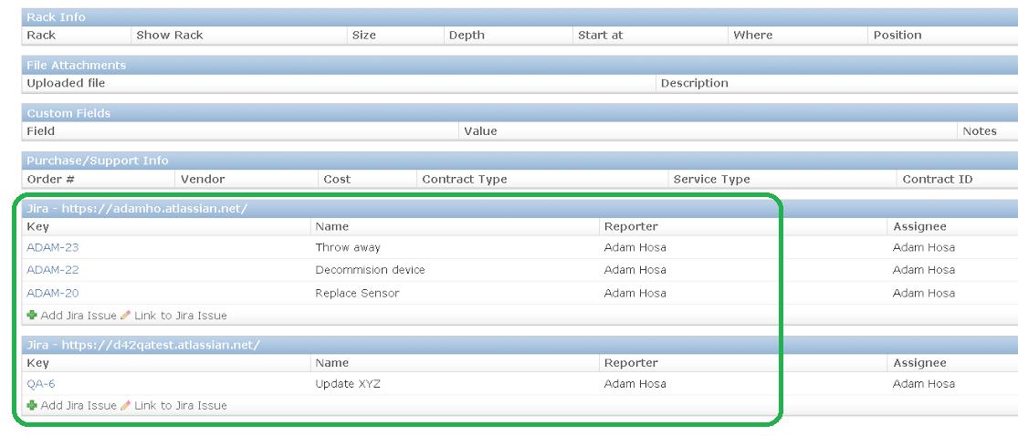 Link CMDB items to JIRA ITSM