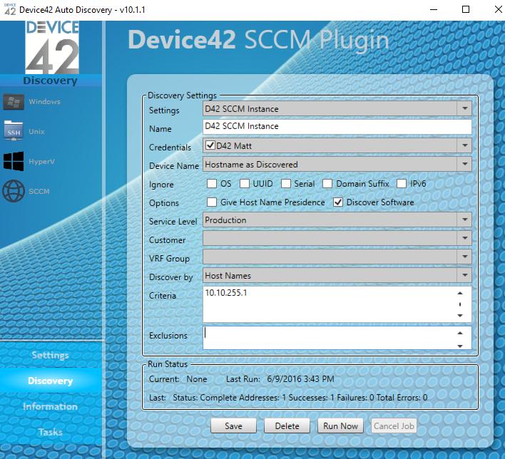 Microsoft SCCM Integration